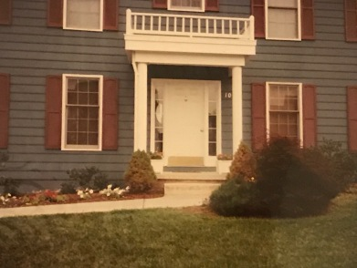 107 Meadowbrooke Place, once a blue house